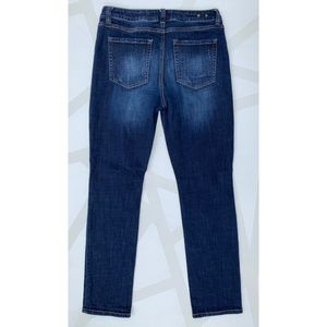 CAbi Jeans - CAbi High Rise Straight Leg Jeans Distressed 8